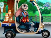 Jeu gratuit Judy répare sa voiture