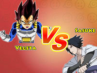 Jeu gratuit Dragon Ball VS Naruto CR - Vegeta