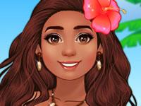 Jeu Moana Princesse de l'île