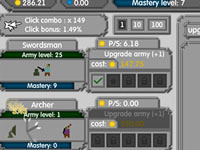 Jouer à Army Mastery Clicker