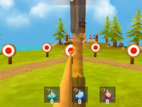 Jeu Bow Island - A Bow Shooting Game
