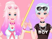 Jeu Barbie Tokyo Kawaii vs Tendance