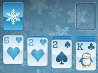 Jeu Winter Solitaire
