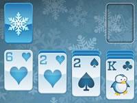 Jouer à Winter Solitaire