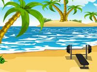 Jeu Toon Escape - Beach
