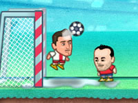 Jeu Super Soccer Noggins - Infinite Christmas Edition
