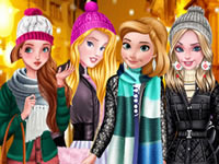 Jeu gratuit Princesses Disney en vestes
