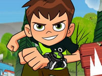 Jeu Ben 10 Steam Camp