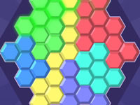 Jeu Hex Blocks Puzzle