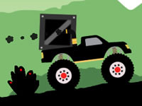 Jeu Monster Truck - Forest Delivery