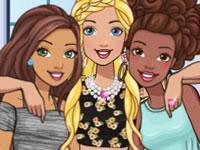 Jeu Barbie et ses BFF