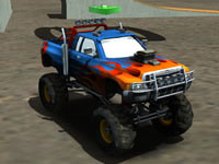 Jeu gratuit Monster Truck Arena Stunts