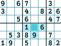 Jeu Winter Sudoku