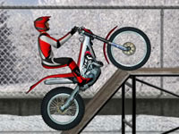 Jeu gratuit Bike Trials Snow Ride