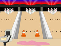 Jeu Toon Escape - Bowling Alley