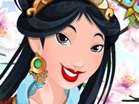 Jeu gratuit Mulan et son maquillage