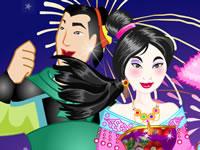 Jeu gratuit Mulan se marie