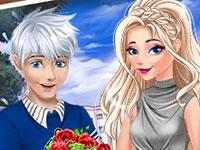 Jeu Saint Valentin d'Elsa et Jack