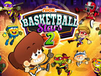Jeu Nick Basketball Stars 2