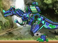 Jeu Réparer Dino Robot - Ceratosaurus