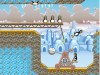 Jeu Crazy Penguin Catapult