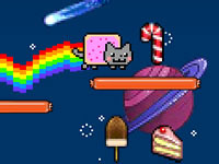 Jeu Nyan Cat - Lost in Space
