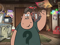 Jeu Gravity Falls Soos' Confusing Adventure