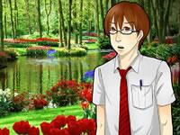 Jeu Valentine Garden Escape