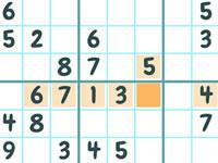 Jeu Easter Sudoku