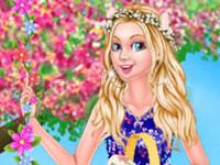 Jeu Barbie Pâques avec style