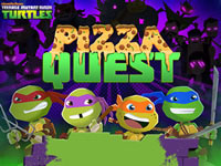 Jeu TMNT Pizza Quest