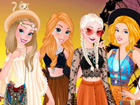 Jouer à Princesses et Festival