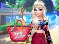 Jeu Elsa panier fantaisie