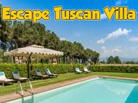 Jeu Escape Tuscan Villa