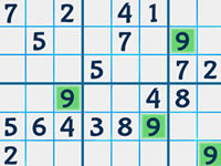 Jeu Summer Sudoku