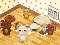 Jeu Maison d'oursons