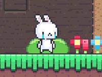 Jeu Sad Bunny Face