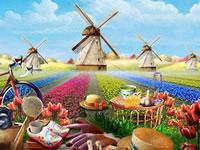Jeu Le pays des tulipes
