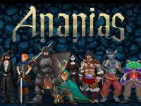 Jeu Ananias Roguelike