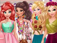 Jeu Princesses et Amies en selfies
