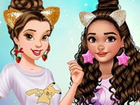 Jeu Belle et Vaiana sont amies
