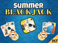 Jeu Summer Blackjack