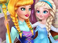 Jeu gratuit Elsa et sa nounou