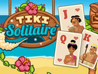 Jouer à Tiki Solitaire
