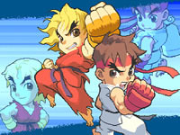 Jeu Super Pocket Fighter Adventure