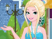 Jeu Elsa part en vacances
