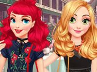 Jouer à Raiponce et Ariel Double RDV