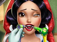 Jouer à Blanche-Neige chez le dentiste