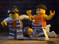 Jeu Lego Prison Island