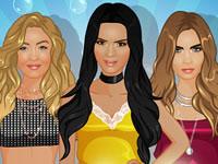 Jeu Kendall, Gigi et Cara